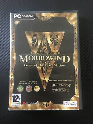 THE ELDER SCROLLS Iii Morrowind : Bloodmoon Expansion Pack