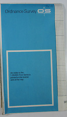 1959 old vintage OS Ordnance Survey 1:25000 First Series Map SJ 08 Rhyl