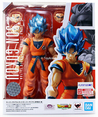 SH Figuarts Dragonball Broly Super Saiyan God Son Goku Blue Gokou SSGSS IN STOCK