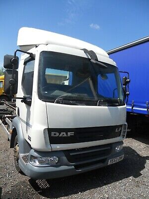 Daf Lf45.160 2013 Manual Gearbox 3 Seats Air Suspension Scaffold/Demount/Chassis