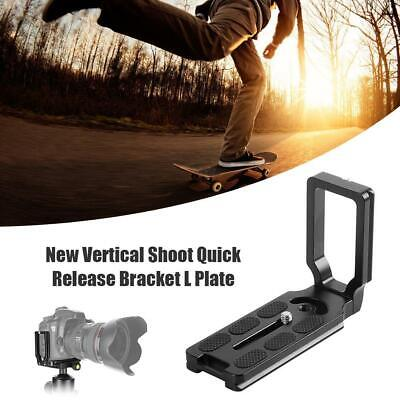 Universal Aluminum Alloy Quick Release L Plate Bracket Support for DSLR Camera