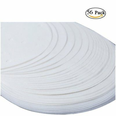 56 X Round Cake Tin Liners Mats Sheets Greaseproof Paper Circles Silicone