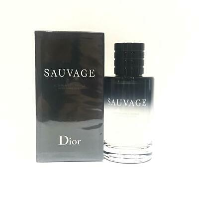 Sauvage by Christian Dior for Men After Shave Lotion 3.4 oz / 100 ml New In Box