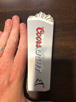 Coors Light Mountains Tap The Rockies Beer Tap Handle Keg Man Cave