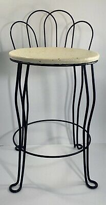 Vintage Joal-Flex USA Mid Century Modern Art Deco Vanity Hollywood Regency Chair