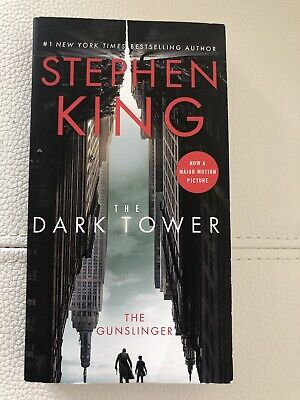 The Dark Tower The Gunslinger Book Stephen King paperback 2017 NEW