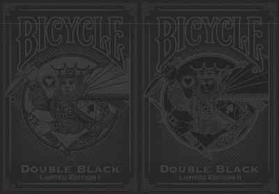 Bicycle Double Black Limited I & Limited II Playing Cards - 500 Decks – SEALED