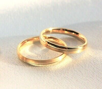 Couple rings gold, 9ct gold wedding rings, men & women wedding rings, men ring