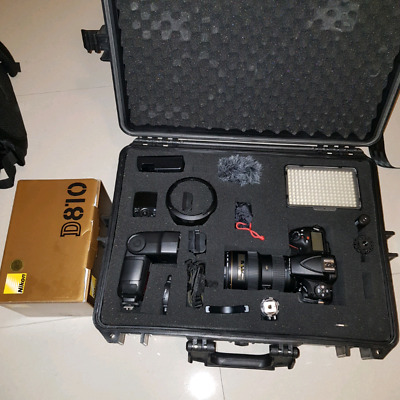 Nikon D810 package with 16-35mm Nissin flash