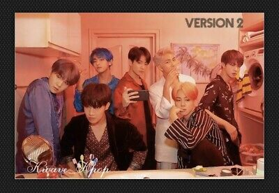 BTS 방탄소년단 MAP OF SOUL :PERSONA VER. 2 -UNFOLDED POSTER -Free Shipping In Tube!