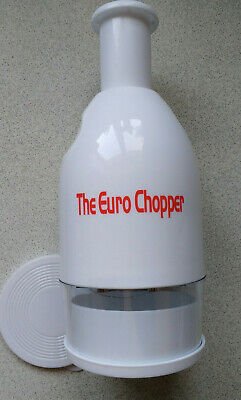 THE EURO CHOPPER DELUXE MODEL NEW AND IMPROVED VEGETABLE CHOPPER NEW IN BOX
