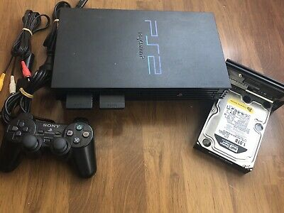 Modded Playstation 2 PS2 1TB HDD + 150 GAMES