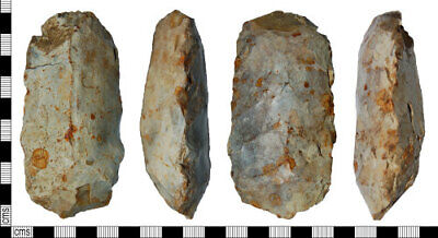 UK Find, Mesolithic Flaked Axe head, Mace head, Bedfordshire Find, Recorded PAS