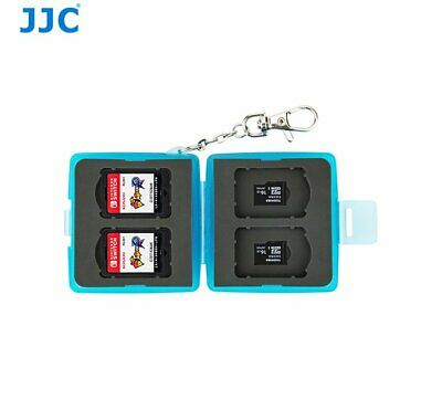 JJC MC-12B Memory Game Card case for 4x NS Nintendo Switch cards + Micro SD _AU