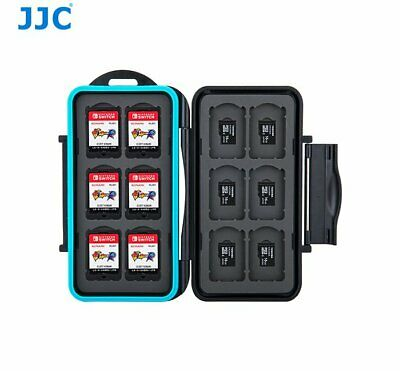 JJC NSMSD24 Game Card case fit for 12x Nintendo Switch NS cards + Micro SD _AU