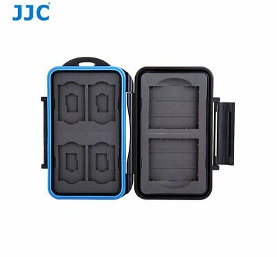 JJC MC-STC10 Comfortable Memory Card Holder case fits for 2x CF 4x SD 4x MSD _AU