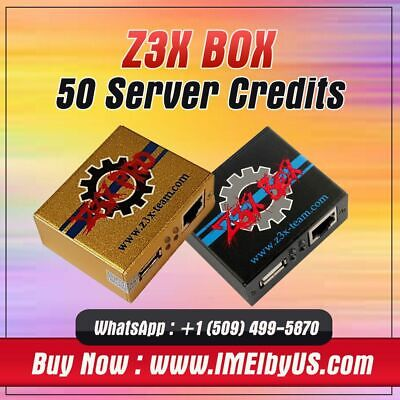 Z3X SERVER CREDITS pack (30 Credits) NEW PACK / REFILL OLD