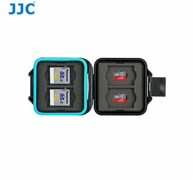 JJC MCR-ST8 Memory Card case with strap for 4x SD cards and 4x TF Cards _AU