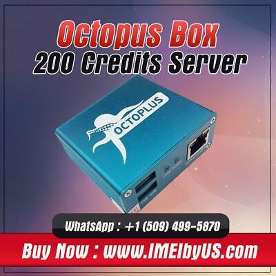 Octopus, Octoplus Server Credit  (200 Pack)  { Fast Delivery }