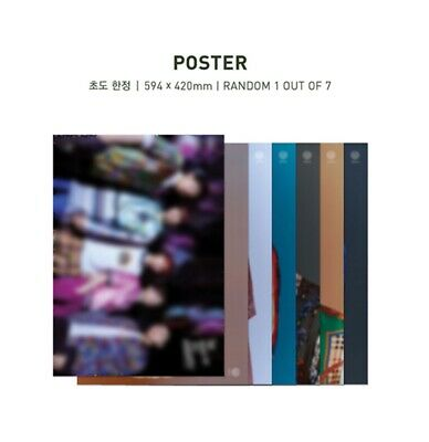 DAY6 데이식스 {THE BOOK OF US : GRAVITY} Folded Random Official Poster Free Shipping
