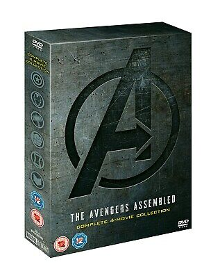 Avengers: 4-movie Collection (Box Set) [DVD] RELEASED 02/09/2019