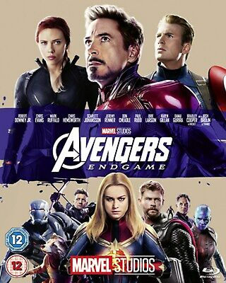 Avengers: Endgame [Blu-ray] RELEASED 02/09/2019