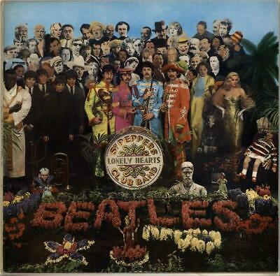 Sgt. Pepper's - 1st Beatles vinyl LP album record UK PCS7027 PARLOPHONE 1967