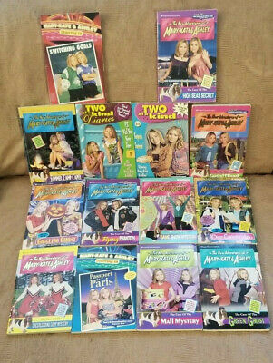 Mary-Kate & Ashley Collection of 14 Amazing Mystery Chapter Books