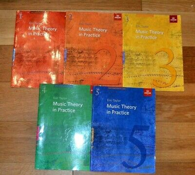 ABRSM Music Theory Books x 5,  Model Answers x 4, Practice Papers x 2