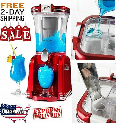 Frozen Slushy Drinks Machine Wine Mushy Slush Margarita Daiquiri Drink Maker
