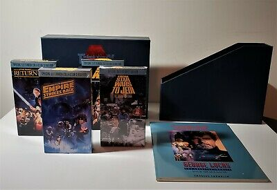 Star Wars trilogy special letterbox collectors edition VHS Rare Collectible!