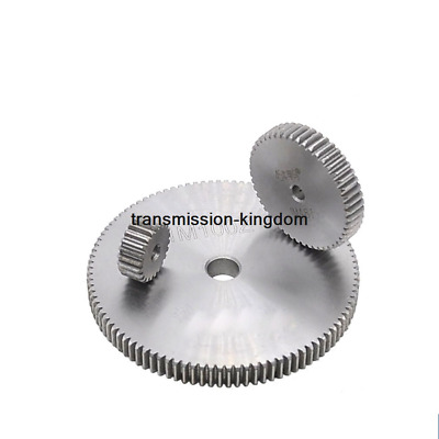 1Pcs 45# Steel Spur Gear 1Mod Metal Moter Gear 12 Tooth-100 Tooth Pinion Gear