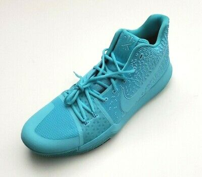 purchase cheap 1685f 6f3e6 NIKE MEN'S KYRIE 3 Basketball Sneaker Shoes Aqua/Aqua-Black Size 18