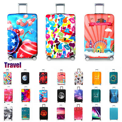 """18""""-32"""" Elastic Suitcase Skin Case Dust Cover Travel Luggage Protective Cover"""