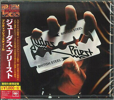 JUDAS PRIEST-BRITISH STEEL-JAPAN CD Ltd/Ed B63
