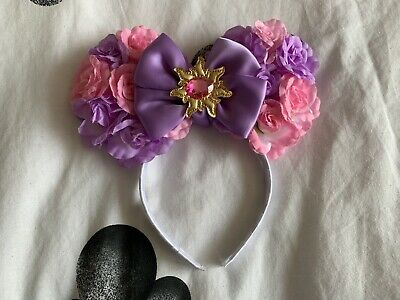 Handmade Disney Minnie Ears Corona Style Tangled