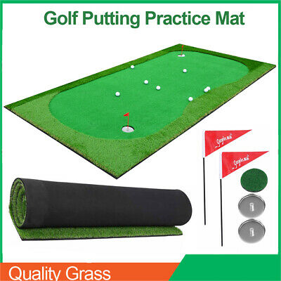 Professional Golf Putting Mat 3*1.5m Green for Indoor/Outdoor Training Practice