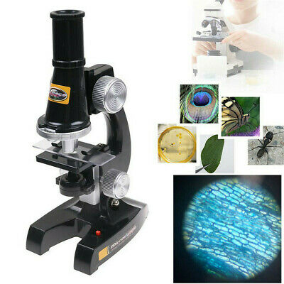 Educational Toys For Kids Microscope Kit Science Home School Lab Tools Learning