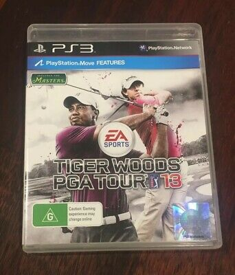 Tiger Woods PGA Tour 13 For PS3. WARRANTY INCLUDED. PAL. OZ.