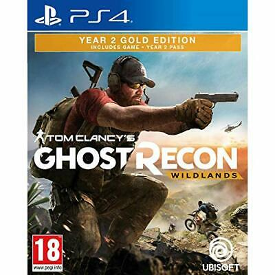 Tom Clancys Ghost Recon: Wildlands (Year 2 - Gold Edition)  (PS4)  new sealed