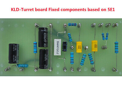 5E3 TWEED DELUXE turret board, Fender 5E3 circuit, with
