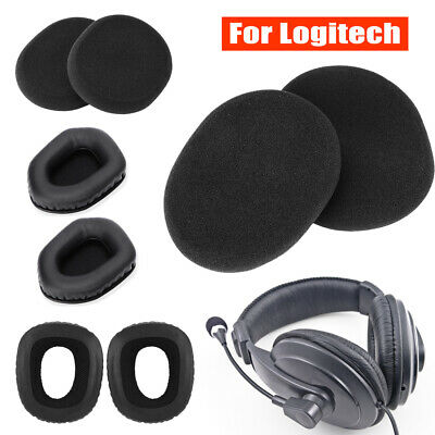 Headphone Foam Cover Ear Pads Cup Cushion Sponge Earpads for Logitech Earphone