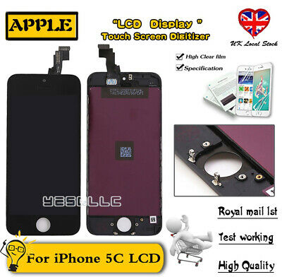 For iPhone 5C Touch Screen LCD Replacement Display Digitizer Assembly Black