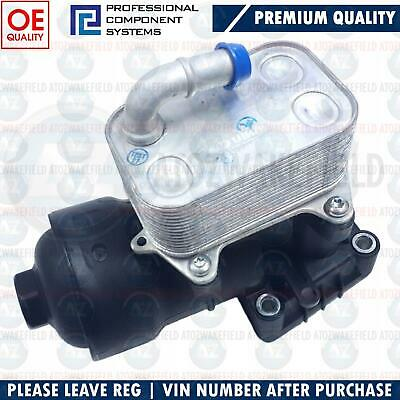 FOR AUDI A6 (C7) 2.0 TDi 2011-2018 OIL FILTER COOLING HOUSING NEW 03L115389E