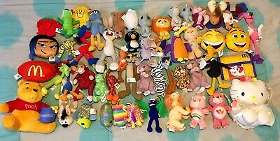 Mcdonalds Happy Meal Soft Toy Collection -48 Toys- 1995-2019