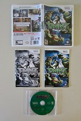 TMNT (Nintendo Wii, 2007)-Very Good Condition!