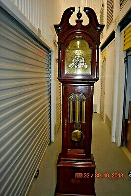 Howard Miller Grandfather Clock model 610-648 TAYLOR working and serviced