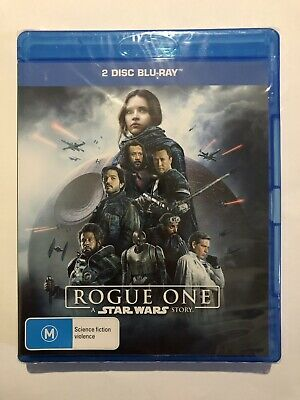 A Rogue One Star Wars Story (Blu-Ray, 2017, 2-Disc Set) New & Sealed Movie 🍿