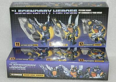 NewAge Toys Transformers Mini Warrior Heroes H10 H11 H12 Insecticon In Stock