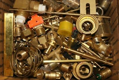 31Lbs - Assorted Yellow Brass Fittings